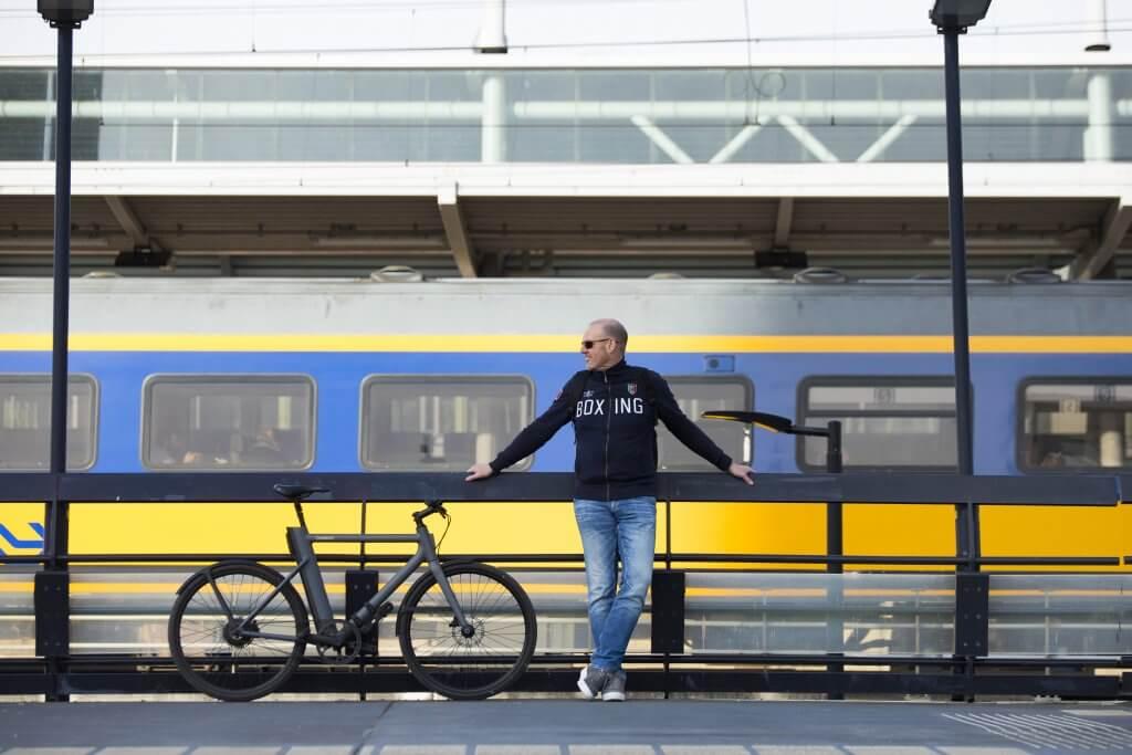Marcel Meijer trein